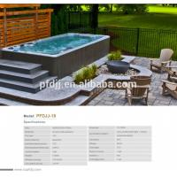 CE Certification Swimmer Exercise Pool Spa Hot Tub With US Acrylic Material Manufactures