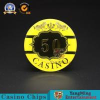 :Macao Casino Casino Club Competition Acrylic Hot Stamping Anti-counterfeit Chips Manufacturer Custom Chip Warehouse Spo Manufactures
