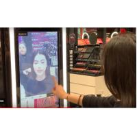 Digital Touchscreen Interactive Store Displays Advertisement Video For Shopping Manufactures