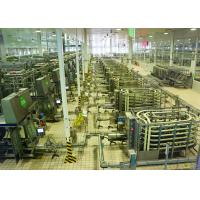Buy cheap Automated Brick - Shape Packaged Dairy Production Line For Pure / Reconstituted from wholesalers