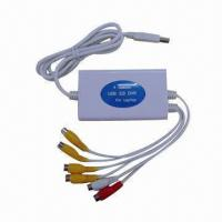 Buy cheap 120fps USB DVR Card for Laptops 4-channel Video and 1-channel Audio, 18 x 13 x 14cm Size from wholesalers