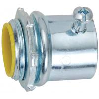 1st Class Watertight Emt Conduit Fittings Yellow Insulated Set Screw Connectors Manufactures