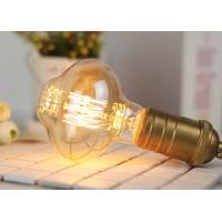 Quality Special Shape Old Fashioned Filament Light Bulbs Copper Cap ROHS Accepted for sale