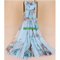 High quality spun polyester voile printing fabric for muslim shawl , scarf , dress, embroidery super fine quality top Manufactures