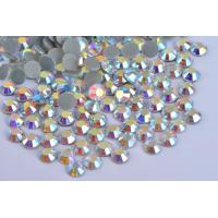 Strong Glue Loose Lead Free Rhinestones 12 - 14 Facets For Garment Decoration Manufactures