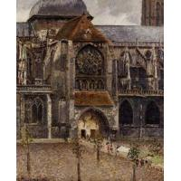 Impressionist(3830) Portal_of_the_Church_Saint-Jacques,_Dieppe