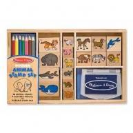 Buy cheap Melissa & Doug Animal Stamp & Ink Pad Set from wholesalers