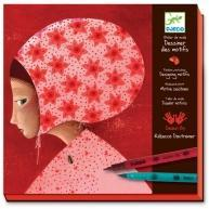 Buy cheap Djeco Drawing & Using Patterns Art Kit from wholesalers