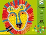 Djeco Lion & Whale Mosaic Craft Kit Manufactures