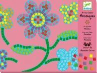 Djeco Flowers Mosaic Craft Kit Manufactures