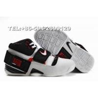 316643-106 Nike Zoom LeBron IV James basketball shoes(black/white/red) Manufactures