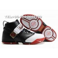 317253-011 Nike LeBron IV James basketball shoes(black/white/red) Manufactures