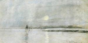 Quality Impressionist(3830) Moonlight_Flanders for sale