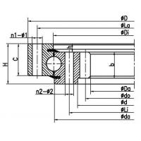 Four point contact ball slewing bearing (internal gear type) Manufactures