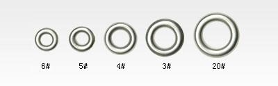 Quality Eyelets Product Model:6#,5#,4#,3#,20# for sale