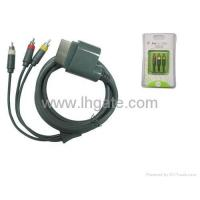 XBOX360 accessories Xbox360 AV Cable LH-360-1019 Manufactures