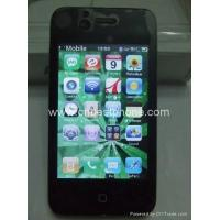 Buy cheap AIRPHONE No.4 IPHONE 4 Quad band Dual sim WIFI mobile phone from wholesalers