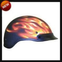 DOT Ghost Matte Flame Motorcycle Helmet Manufactures
