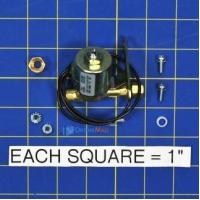 Aprilaire 4191 Solenoid Valve Assembly Manufactures