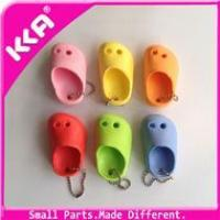 2014 Silver color mini shoe key chain in shoe decorations Manufactures