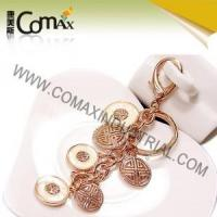 Fancy keychains FK-0154 Traditional Coin Metal Fashion Fancy Keyrings Manufactures