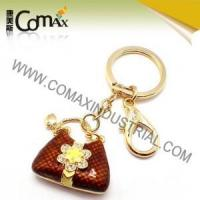 Fancy keychains FK-0150 Handbag Quality Colorfill Metal Fancy Keychains Manufactures