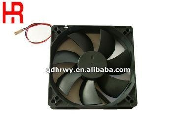 Quality 120mm 12 volt dc computer cpu fan for radiators for sale