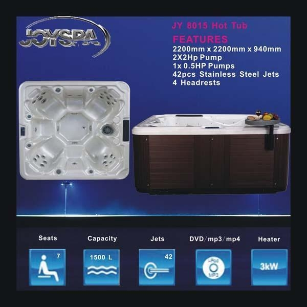 Quality HotTubs JY8015 for sale
