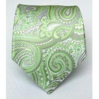 100% Silk Woven Apple Paisley Tie Manufactures