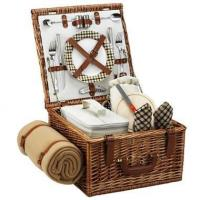 Picnic at Ascot - London Cheshire Basket for Two w BlanketItem #: 344503 Manufactures