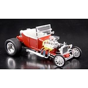"""Quality tes460045 - 1/24 Model """"T"""" Bucket (Red) (Metal Kit) for sale"""