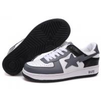 Bape New and Better shoes grey / white / black Manufactures