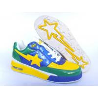 Bape Air shoes yellow / blue / green Manufactures