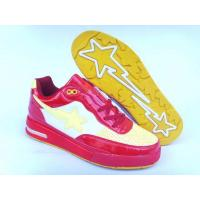 Bape Air shoes red / white / yellow Manufactures