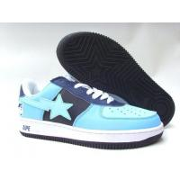 Bape New and Better shoes light blue / black Manufactures