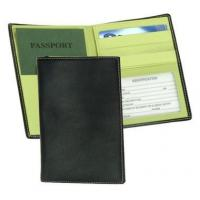 Leather Passport & Currency Wallet w ID Window & Credit Card SlotsItem #: 95151 Manufactures