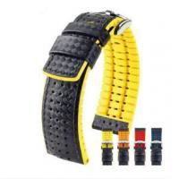 watches with leather strap Watch Strap Thn-09 Leather Straps Manufactures