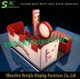 Exquisite eyebrow kiosk for shopping mall Manufactures