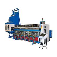 Six-station Hot Press with Automated Weighing Machine and Material Feeding D Manufactures