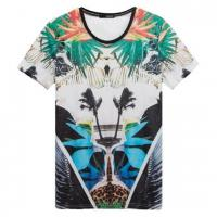 Buy cheap Allover print tshirt/sublimated print tshirt from wholesalers