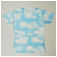 Buy cheap Allover full cloud print t-shirt from wholesalers