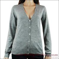 95/5 Cotton/Wool Fitted Knit Cardigan Women 12001 Manufactures
