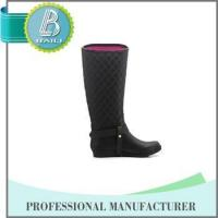 China Manufacturer Environmental black long boots for girls Manufactures