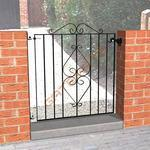 """Abbey Trading 8021003 38"""" X 33"""" Ascot Iron Gate Manufactures"""