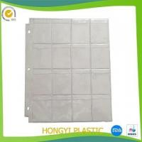 Inner sheet protector pvc stamp collection page Manufactures