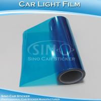 Dark Blue Car Head Light Vinyl Film