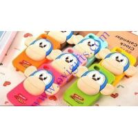Cartoon 3D monkey silicone phone cases Manufactures