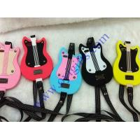 Lovely Guitar Cartoon silicone phone cases Manufactures
