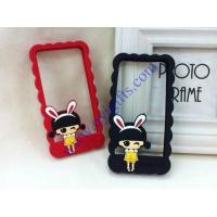 Cartoon silicone phone holder frame Manufactures