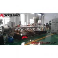 Latest technology EVA with carbon black Enforcing modification twin screw extruder Manufactures